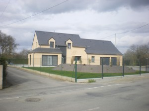 Réalisation sur la commune de Louvigné de Bais