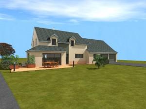 Projet de construction d'une maison dans le périmètre d'un monument classé